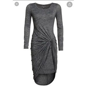 NWT Adrianna Papell Black and Gray Dress Size XS